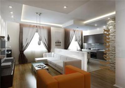 Дизайн гостиной комнаты.