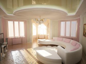 Чтобы гостиная стала просторнее и красивее