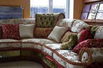 Декоративные подушки как часть интерьера