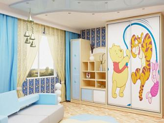 Детская комната сказка для детской.