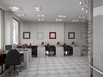 Дизайн рабочей зоны офиса