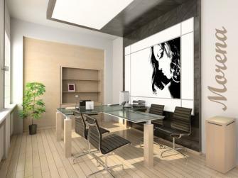 HI-TECH в дизайне интерьера офиса