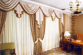Использование портьер и штор в интерьере дома