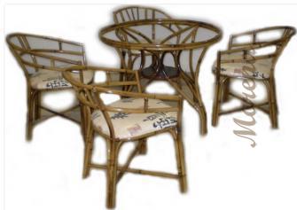 Как ухаживать за бамбуковой мебелью