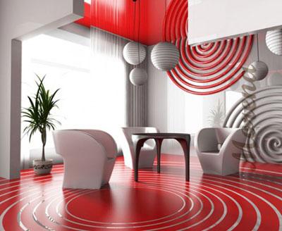 Квартира в авангардном стиле