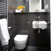 Создаем стильную туалетную комнату