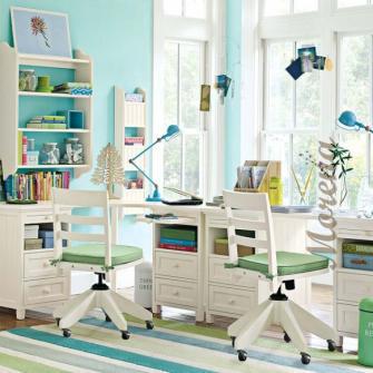 Создание рабочей зоны в комнате ребенка