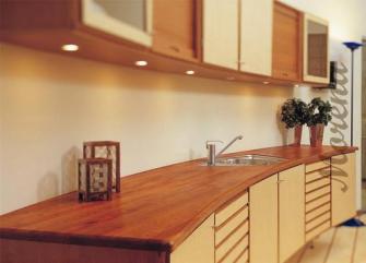 Столешницы для кухни из деревянного массива