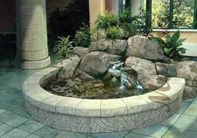 Украшаем интерьер водопадом