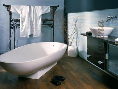 Западные и восточные традиции в дизайне ванной комнаты