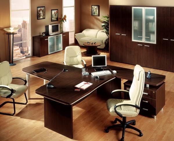 Европейский стиль оформления офиса