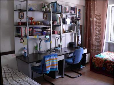 Интерьер комнаты студенческого общежития