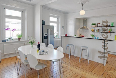 Некоторые особенности дизайна интерьера кухни