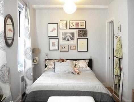 Оформление небольшой квартиры