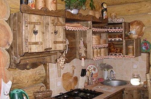 Кухня дома как сделать