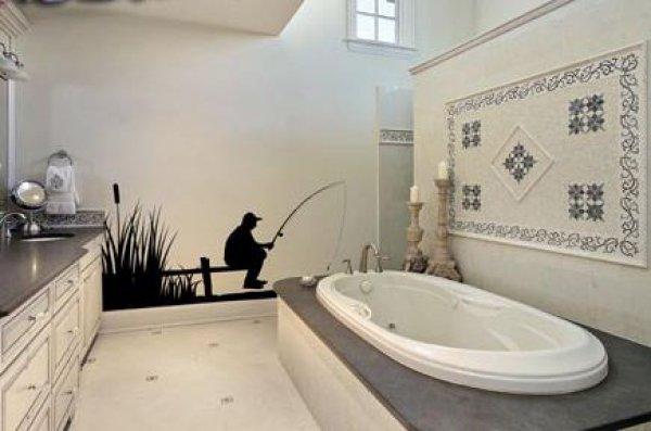 Как обновить стены в ванной комнате