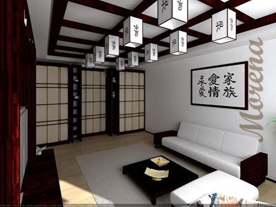 Особенности японского стиля в оформлении интерьера
