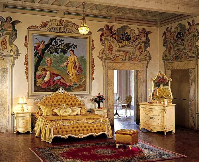 Дизайн мебели в стиле барокко