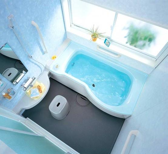 Дизайн интерьера ванной комнаты маленького метража