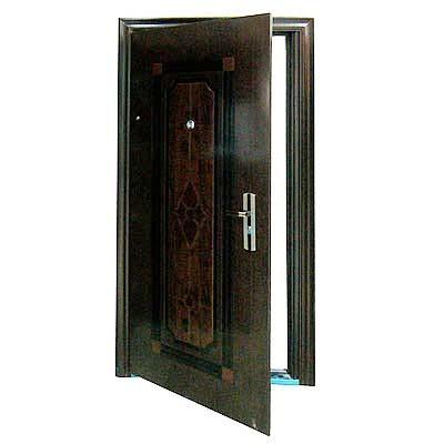 Стальная дверь - надёжная защита вашего дома