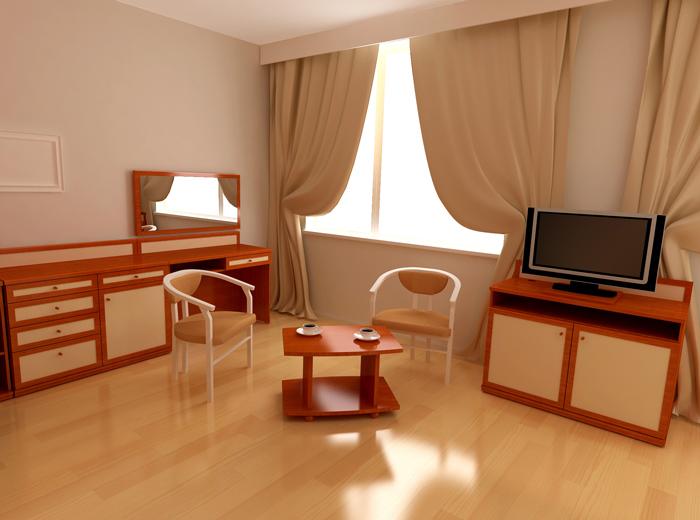 Выбираем мебель для гостиницы.