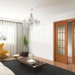 Выбор распашных межкомнатных дверей