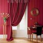 Исправляем недостатки комнаты с помощью штор