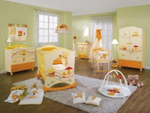 Комната новорожденного: зонирование и меблировка