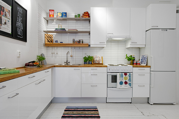 кухни скандинавские фото