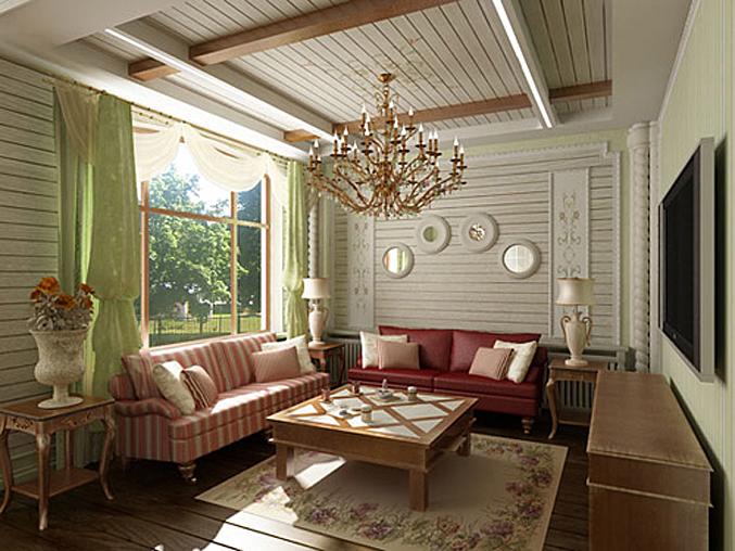 Дом в стиле прованс интерьер