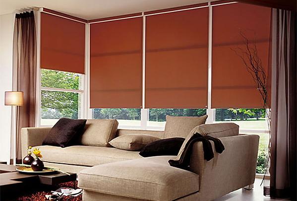 шторы рулонные идеальный вариант для любого интерьера