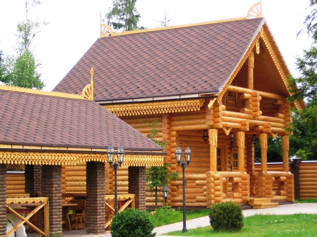Строительство деревянных домов в наши дни