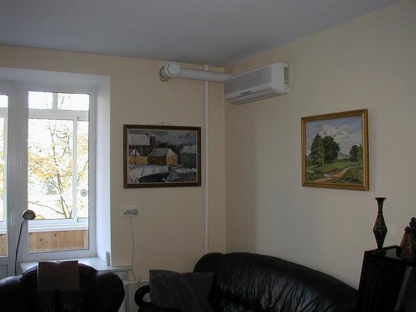 Приточная установка для квартир и домов
