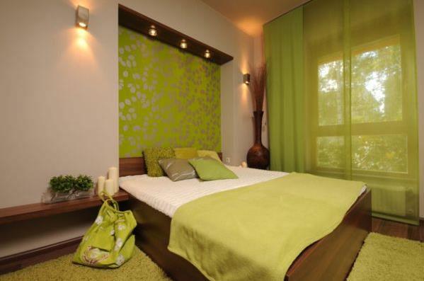 Роль цвета в интерьере спальни