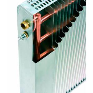 биметаллические радиаторы разбиты изнутри на секции
