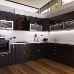Кухонная мебель задающая настроение