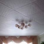 Красивый и дешёвый потолок из плитки