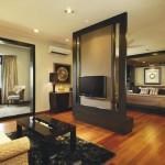 Совмещение гостиной и спальни в одной комнате